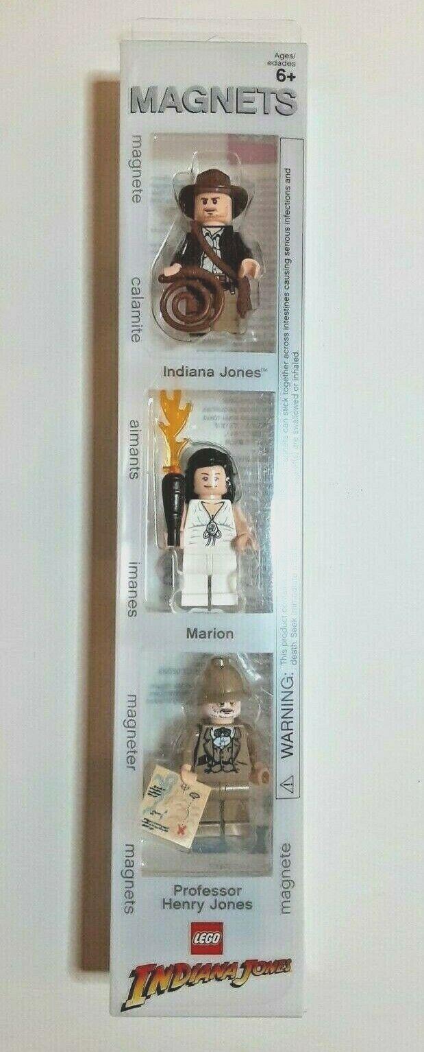LEGO INDIANA JONES 4527417 MAGNETSET MINIFIGUREN OVP NEU HENRY MARION 3 FIGUREN