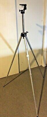 "Vintage SEARS Telescopic Camera Tripod Sears & Roebuck Aluminum 50"""
