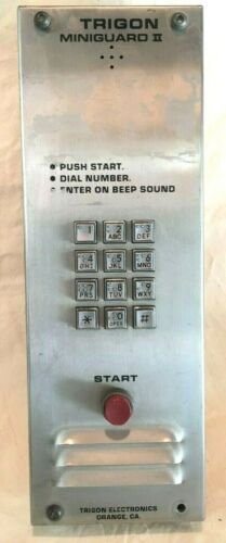 Trigon Miniguard II Telephone Directory Entry System