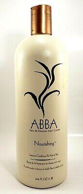 abba nourishing leave on conditioner 33.8 fl