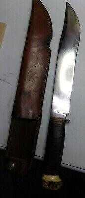 Antique Marbles TrailMaker Knife Vintage w/Original Sheath 40's/50's Great Rare!