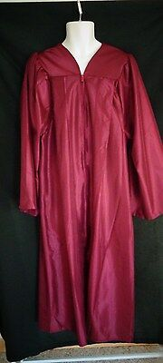 Academus Maroon Graduation Choir Robe Mens Womens 5'6