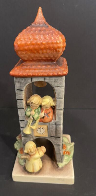 "# 163 ""Whitsuntide"" Bell Clock Tower Hummel Figurine"