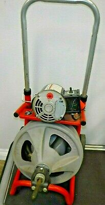 Ridgid K-400- 115v 13hp Powered Drain Cleaner Drum Machine