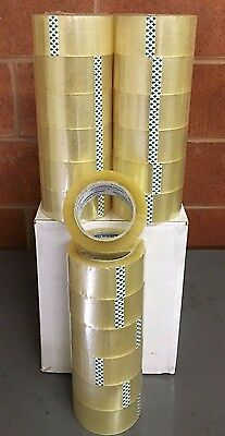 36 Roll Packing Tape 2x110 Yards Clear No Shipping Cawaoraznv 1.8mil