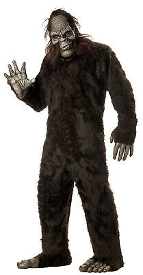 Halloween Sasquatch Costume (Big Foot Sasquatch Adult Halloween)
