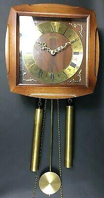 Schmeckenbecher Pendeluhr Uhr Vintage Glockenuhr Regulator 50er 60er FFUh