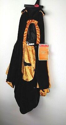 Halloween Infant Bat Bunting Costume Size XSmall 0-9 Months 6-20 lbs NWT (Infant Bat Costume)