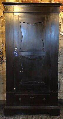 Antique French Armoire In Painted Pine
