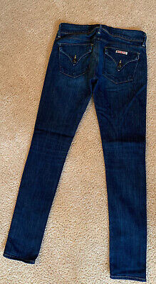 Womens Skinny Hudson Jeans Size 25