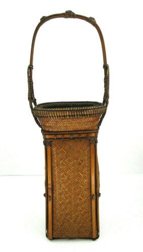 Antique Japanese  Hanakago  Ikebana Basket