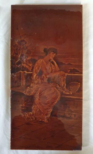 PILKINGTON LARGE 11.75 x 6 INCH LARGE antique  TILE  AESTHETIC