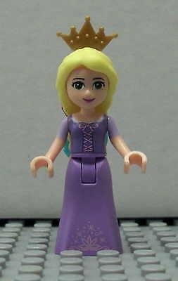 LEGO Disney Princess - Rapunzel mit Krone - Figur Minifig Friends Mädchen 41054 (Disney Rapunzel Krone)