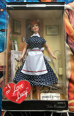 "Love Lucy Episode 45 ""Sales Resistance"" Lucille Ball Doll Mattel Barbie 2004"
