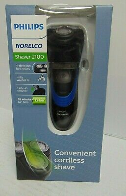 Philips Norelco Shaver 2100 Wet & Dry Pop Up Trimmer S1560/81 BRAND NEW