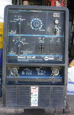 Miller Bobcat 225 Nt Welder Cccv-acdc 8000 Watt Generator 1185 Hours