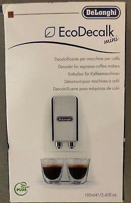 DeLonghi EcoDecalk Mini Descaler For Mini Coffee Machines 3.4 Oz / 100ml