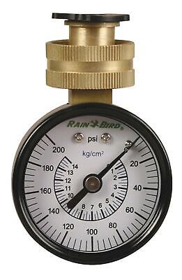 Rain Bird P2A Water Pressure Test Gauge, 3/4