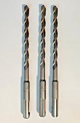 Three 3 Dewalt Dw5424 516 Rock Carbide Sds Plus Drill Bits