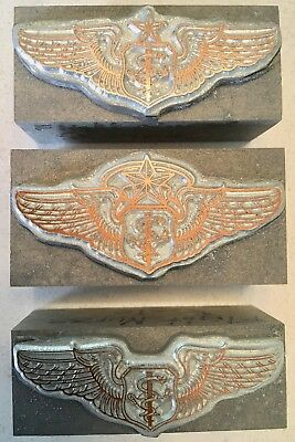 Flight Nurse Us Military Insignia Badge Kwikprint Kingsley Printing Dies