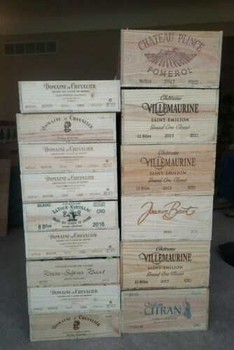 Wood Wine Crates~6ct or 12ct Boxes