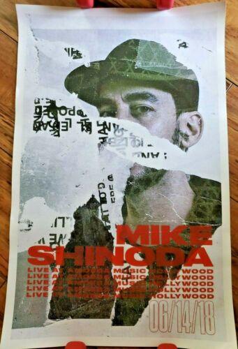 """Mike Shinoda Poster Lincoln Park Amoeba Live 14"""" x 22"""""""
