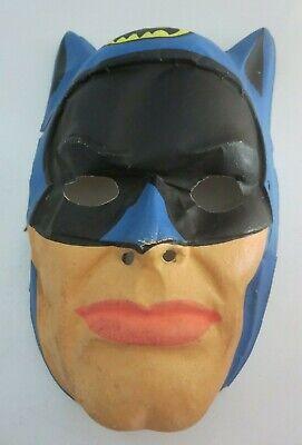 Vintage 1960s Collegeville Batman Halloween Mask