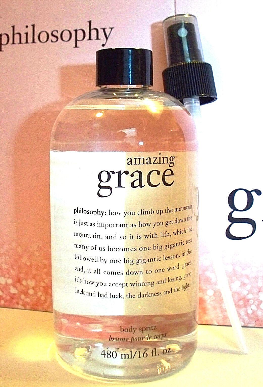 Philosophy Amazing Grace Body Spritz Jumbo Size 16 Fl. Oz.