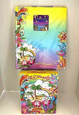 Lisa Frank Ed Hardy Dry Erase Board W Marker 2 Magnets Storage Box New