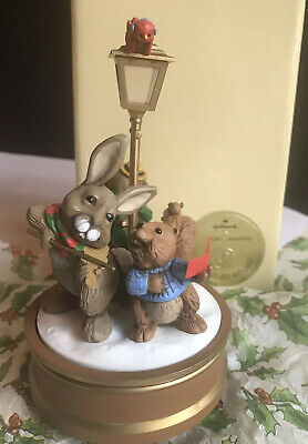 Christmas Merry-Go-Round Carousel Music Box Merry Musicians Animals Hallmark Christmas Carousel Music Box