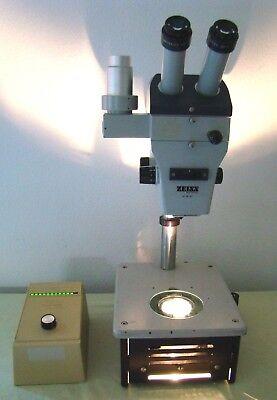 Zeiss Stemi Sv8 Trinocular Stereo Zoom Microscope Diagnostic Instruments Stand