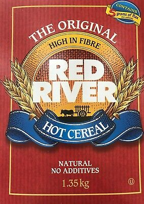 ORIGINAL RED RIVER HOT CEREAL 1 LARGE BOX FACTORY SEALED - MADE IN CANADA