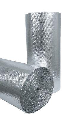 Single Bubble Radiant Barrier Insulation Foil-bubble-foil 48 X 125ft 500 Sqft