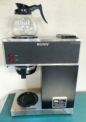 Bunn Vpr 12 Cup Pourover Commercial Coffee Upper Lower Warmers Light Use 33200