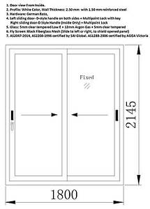 Double glazed Low-E glass, uPVC Sliding Door Riverton Canning Area Preview