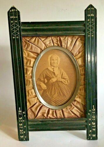 Antique Victorian Carved Wood Easel Frame