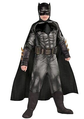 Batman Costumes Kids (Batman Muscle Jumpsuit Child Boy's Costume Large )