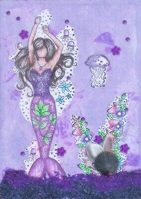 Oceans of Violets in Bloom Mermaid (1)