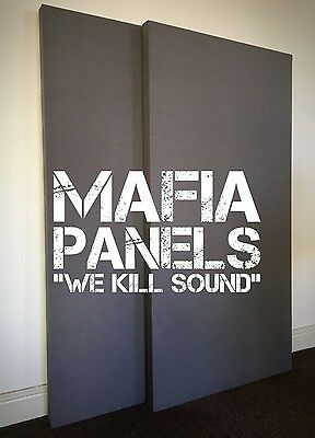 2x Mafia Panels- Acoustic Sound Proofing Panels- Professional Studio Set £65!!