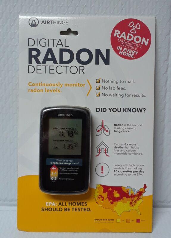Air Things Digital Radon Gas Detector #0083