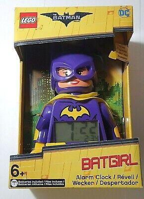 LEGO Batman Movie Batgirl Minifigure Light Up Alarm Clock Purple (9009334)
