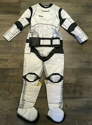 Star Wars Storm Trooper Costume Halloween Dress Up Play Kids Youth Childrens M
