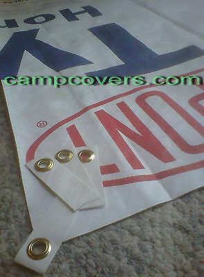 Tyvek tent footprint KIT w/ 4 UL Grommet Tabs for REI half dome 2 PLUS