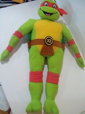 Teenage Mutant Ninja Turtle Plush 25 inch Red Raphael Stuff Animal TMNT