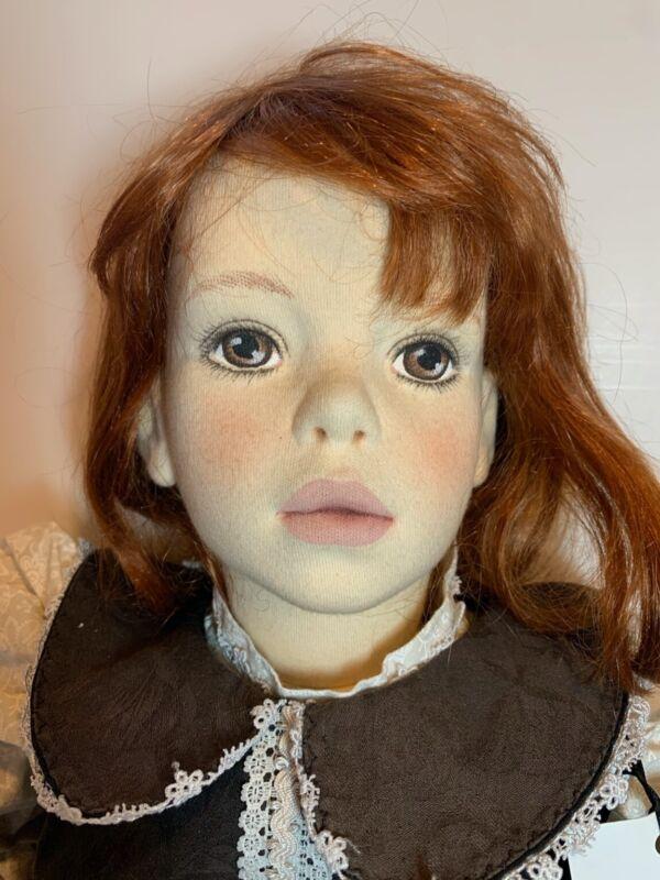"RARE Unique Vintage Jessie Bishop Doll ""Daryl"" signed dated 1998"