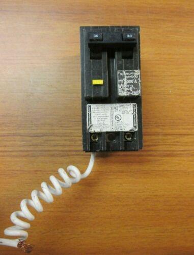 Square D Homeline GFI Circuit Breaker 2P, 30A, Cat# HOM230GFI .. H-34