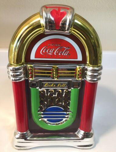 COCA COLA Jukebox cookie Jar/ice bucket