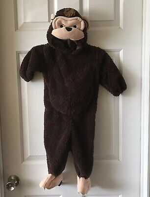 Koala Kid's Toddler Unisex Size 18m Monkey Halloween Costume Dark Brown EUC - Koala Kid Kostüm
