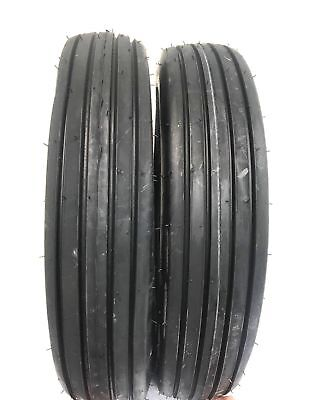 Two 600x166.00-16 Rib Implement Farm Tractor Tires Wtubes Disc Do-all 6 Ply
