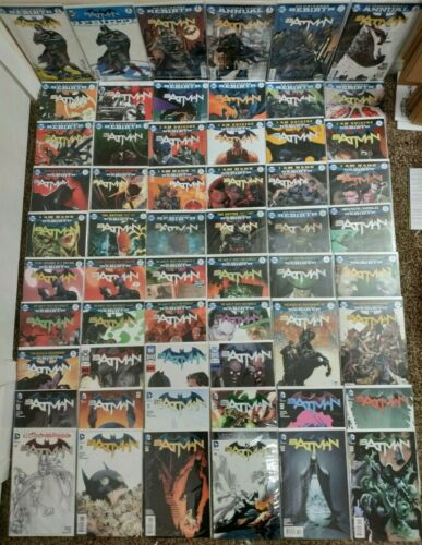 BATMAN 1 - 52 DC Rebirth Annual Comics   I Am Suicide Bane Rooftops Button Rules
